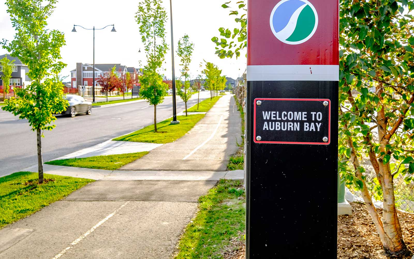 bike-paths-in-auburn-bay-calgary-alberta