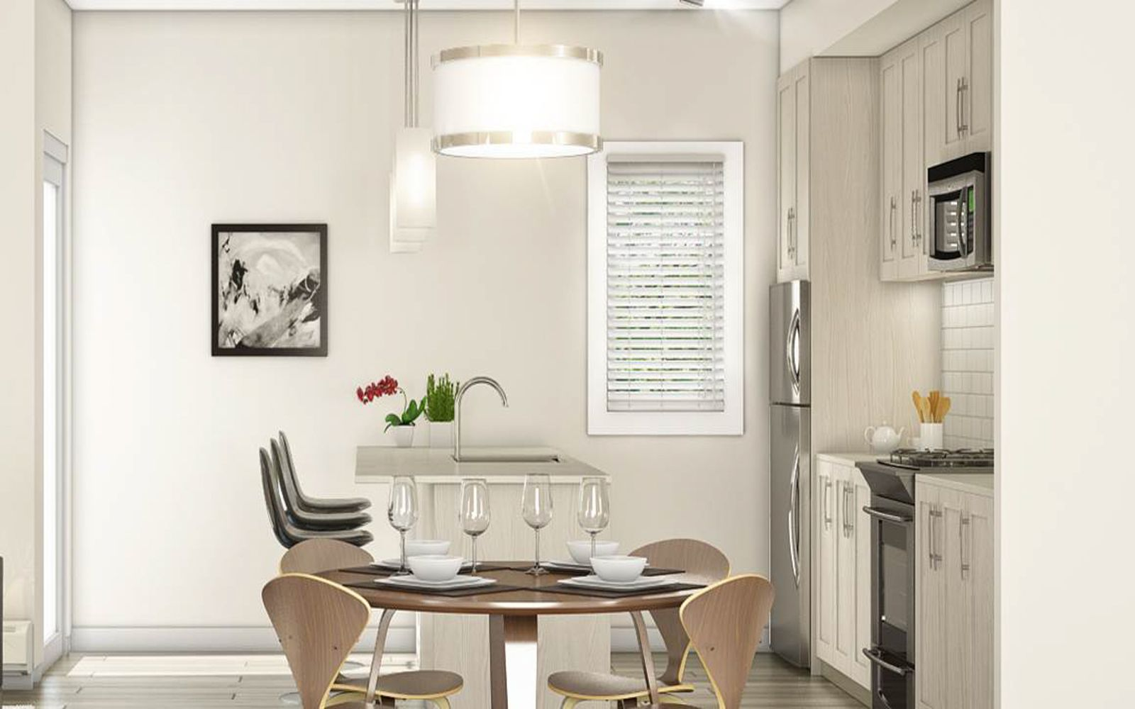 dining-room-kitchen-summerland-calgary