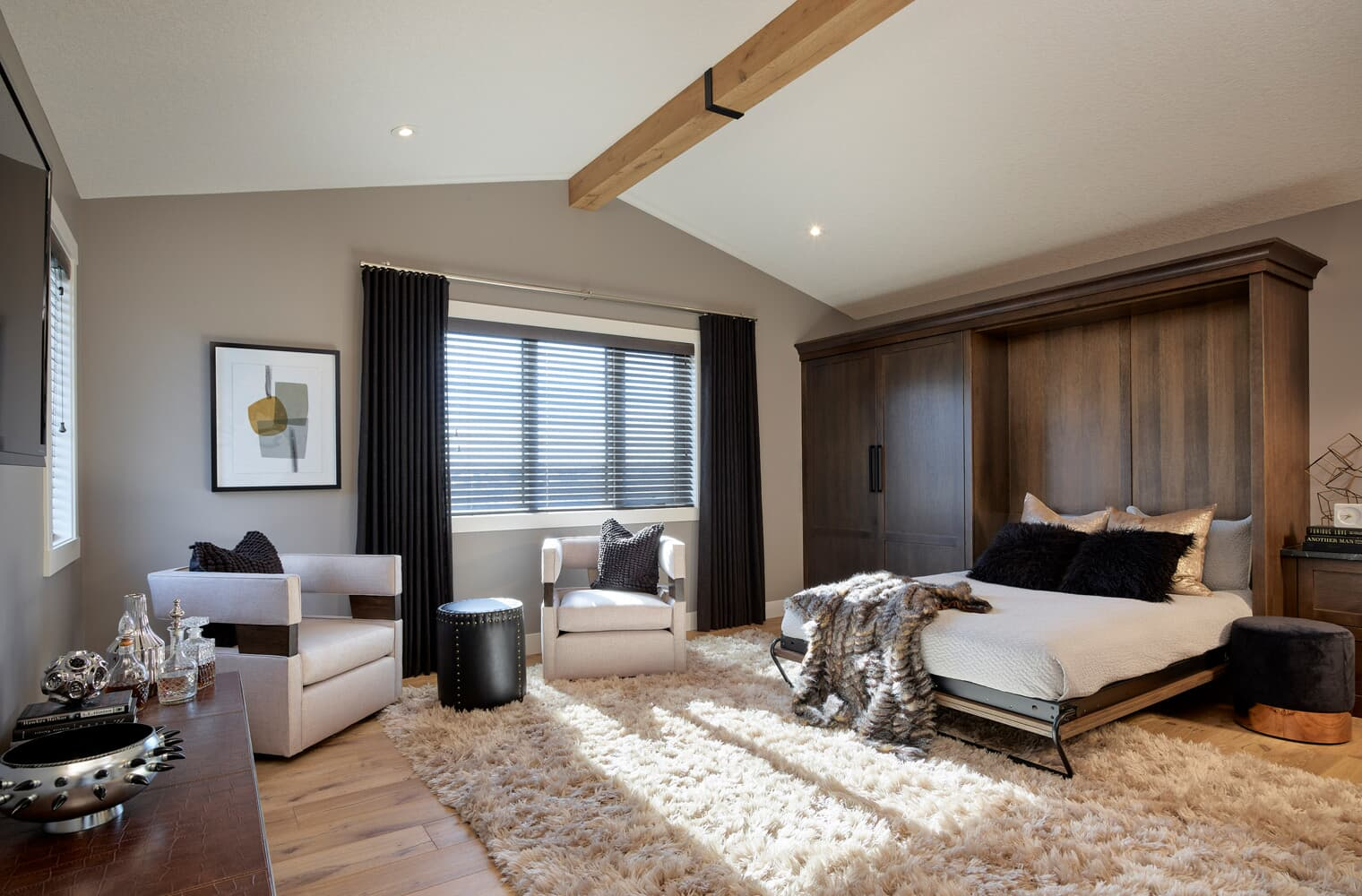 the loft at the sereno estate showhome in cranstons riverstone