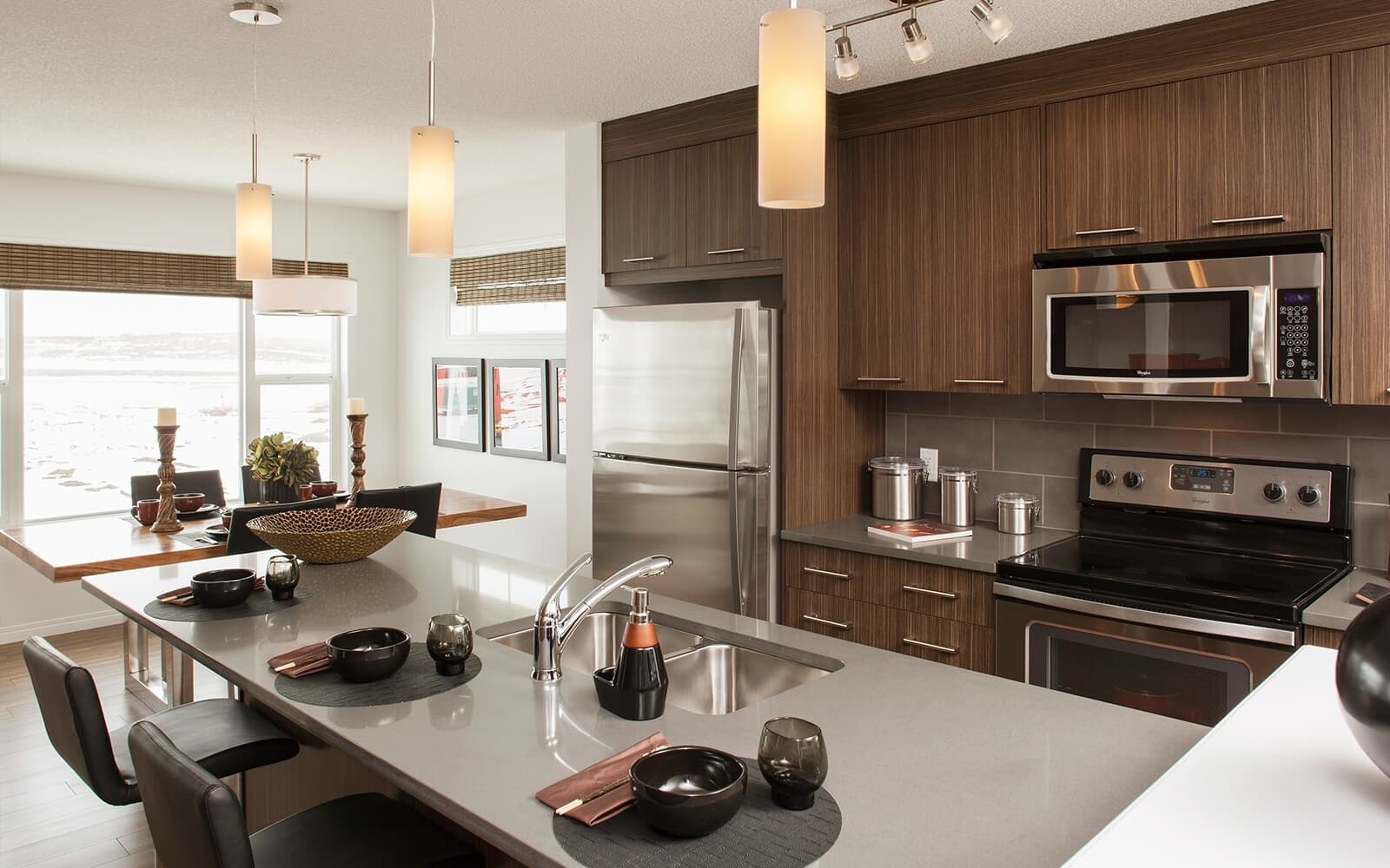 Sequoia Brookfield Residential Kitchen