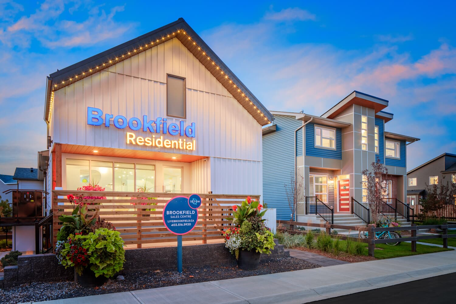 Homes Calgary Seton Brookfield Residential
