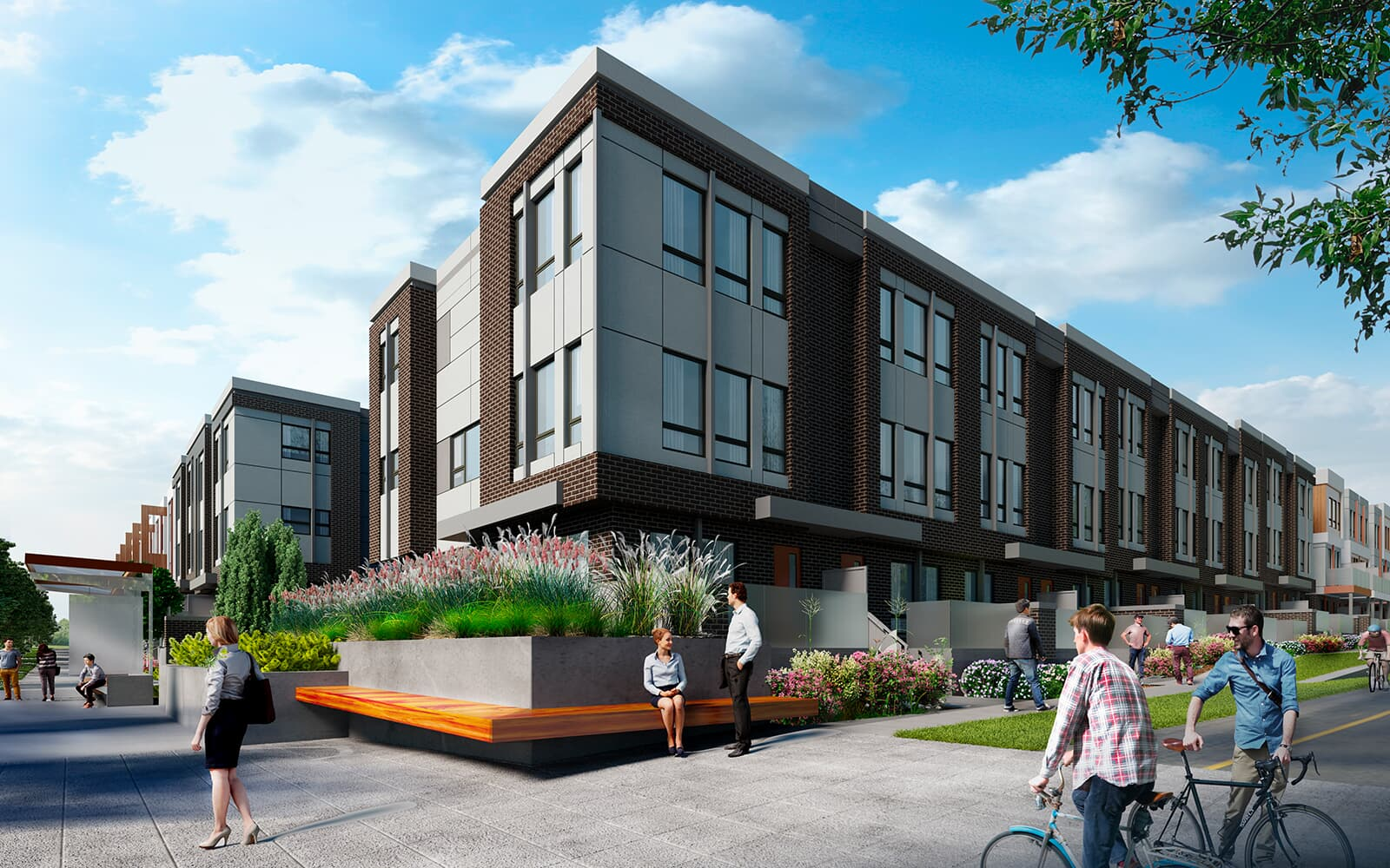 Ivy-Brownstone-Exterior-Calgary-University-District