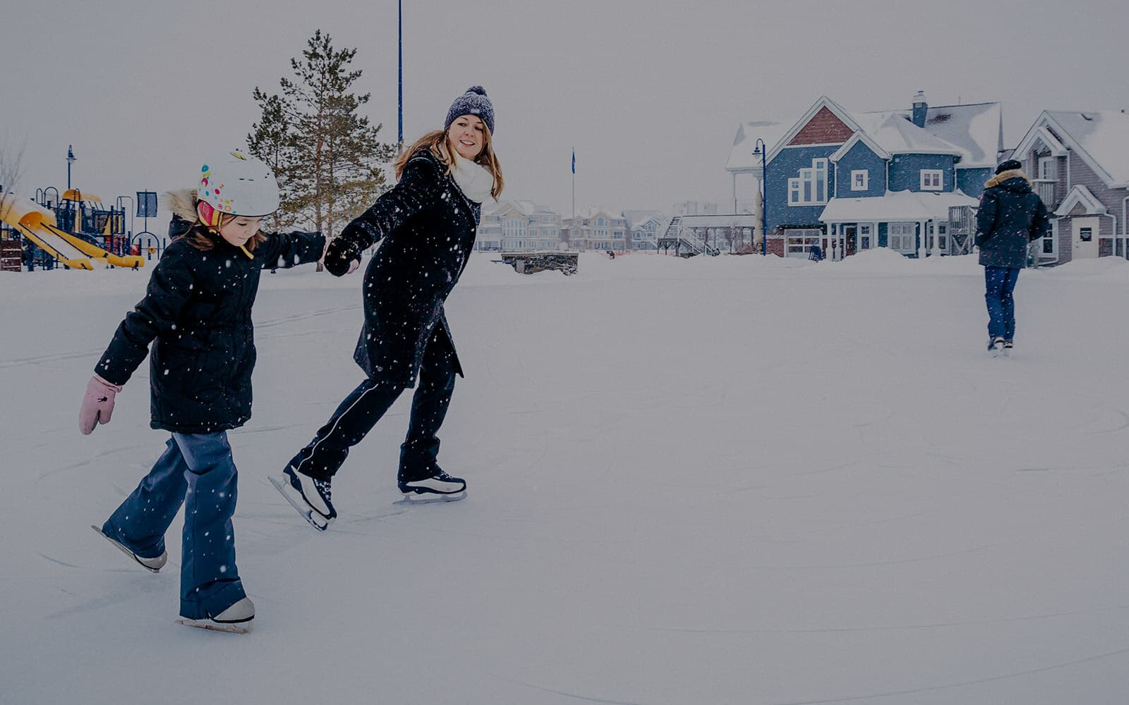 skating-in-lake-summerside-edmonton-alberta