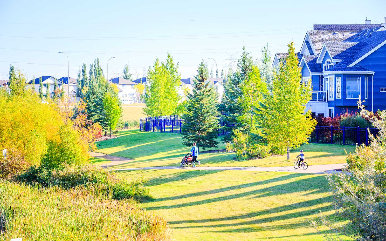 walking-trails-in-lake-summerside-edmonton-alberta