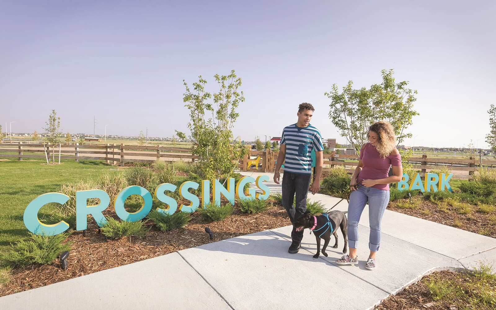 Lifestyle Crossings Bark Couple Brighton Crossings Denver Colorado