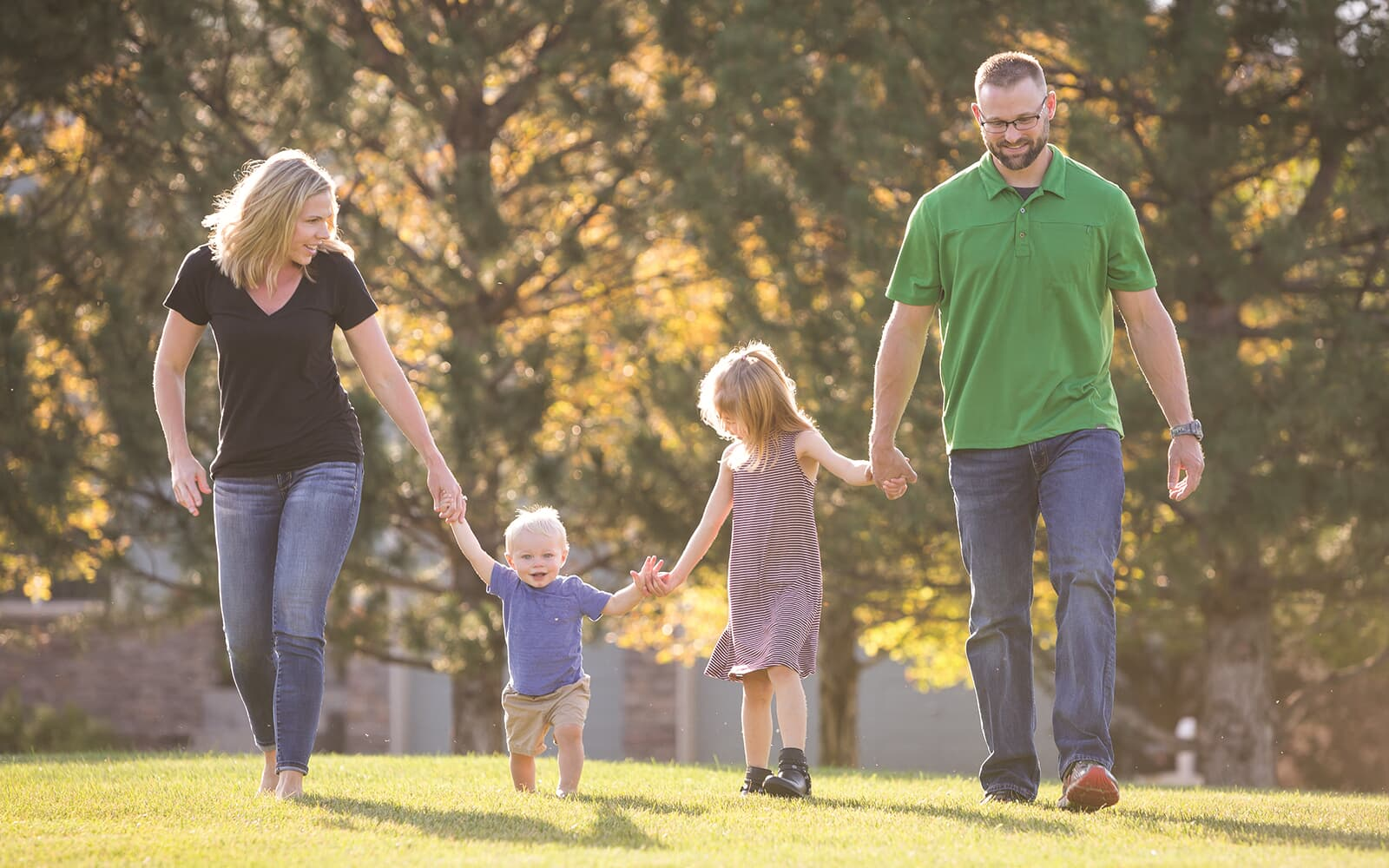 Lifestyle-Family-Park-Walking-Brighton-Crossings-Denver-Colorado