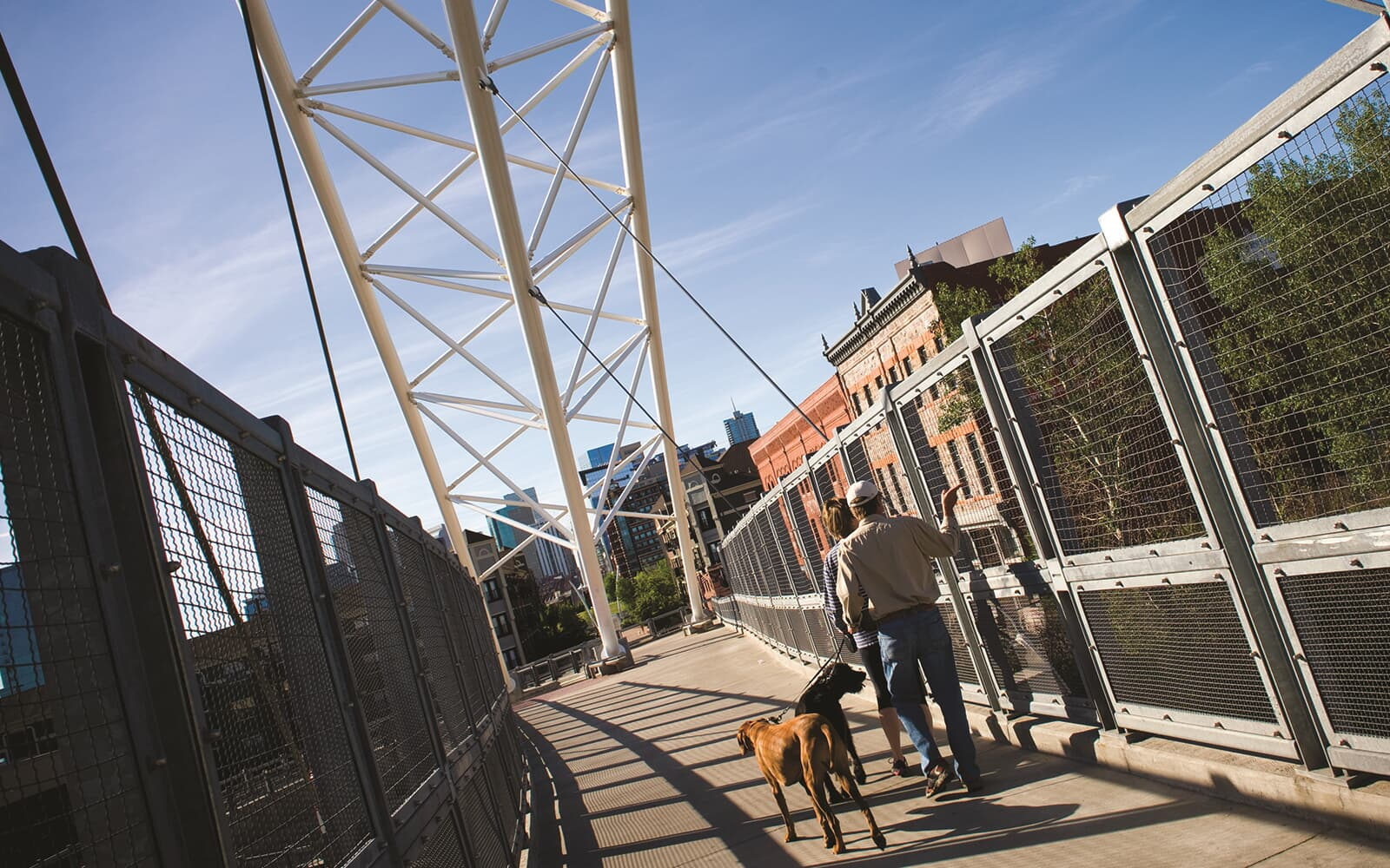 LoHi-Pedestrian-Bridge-Lifestyle-Midtown-Denver-Colorado