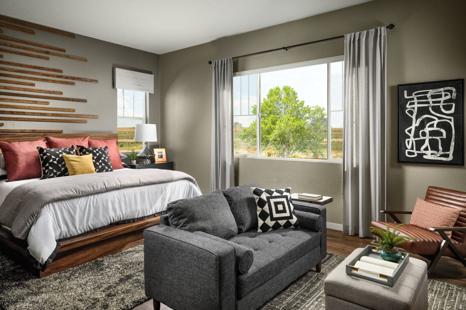 Ovation One Master Bedroom Brighton Crossings Denver Colorado
