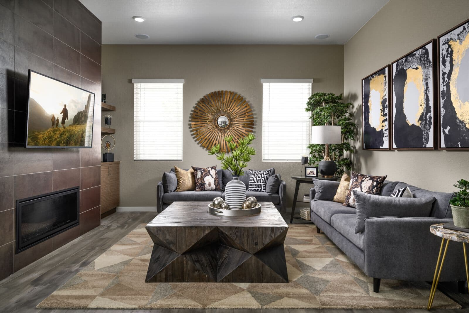 Villa-Two-Family-Room-Barefoot-lakes-Denver-Colorado
