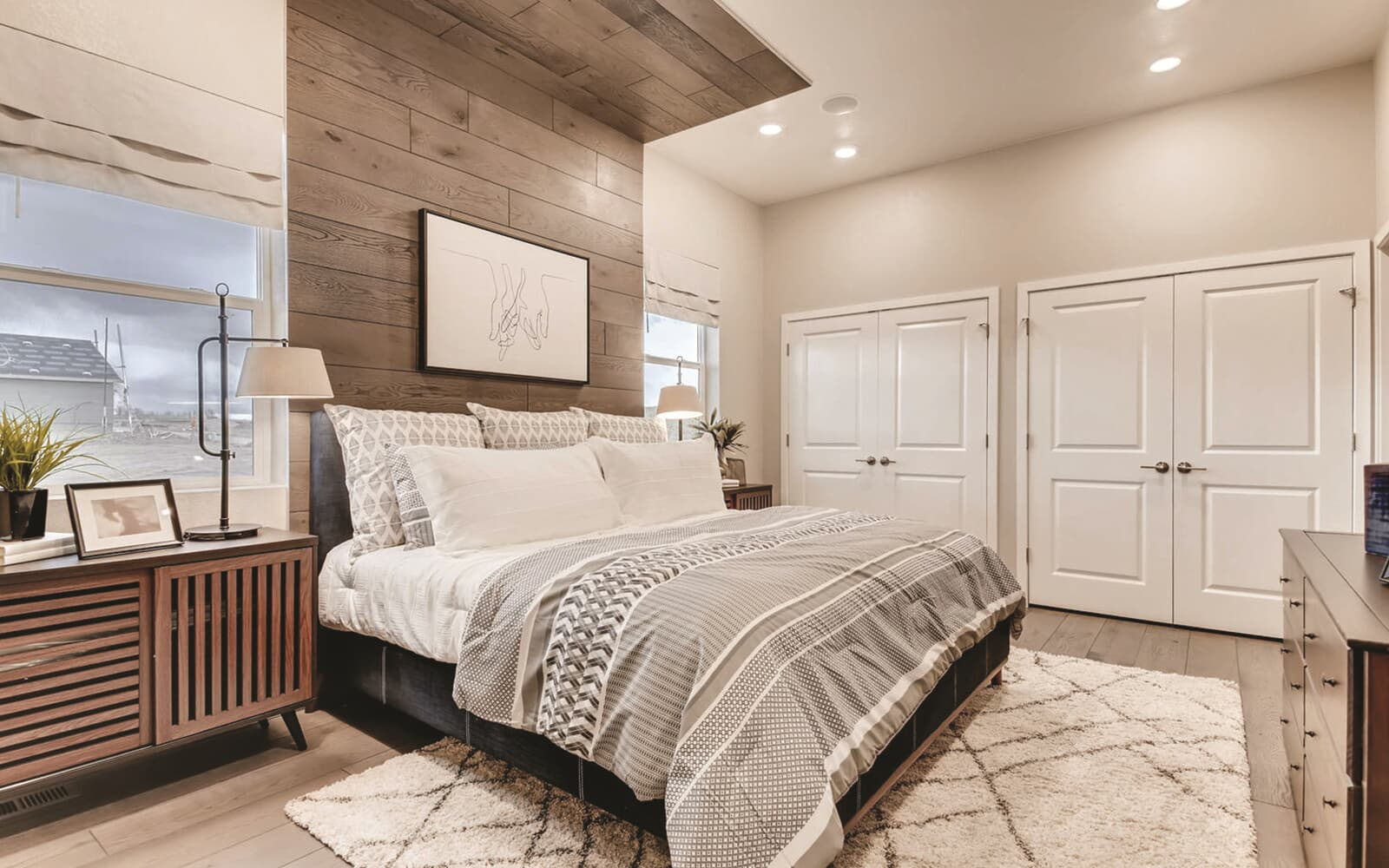 Villa-Three-Interior-Master-Bedroom-Barefoot-Lakes-Denver-Colorado