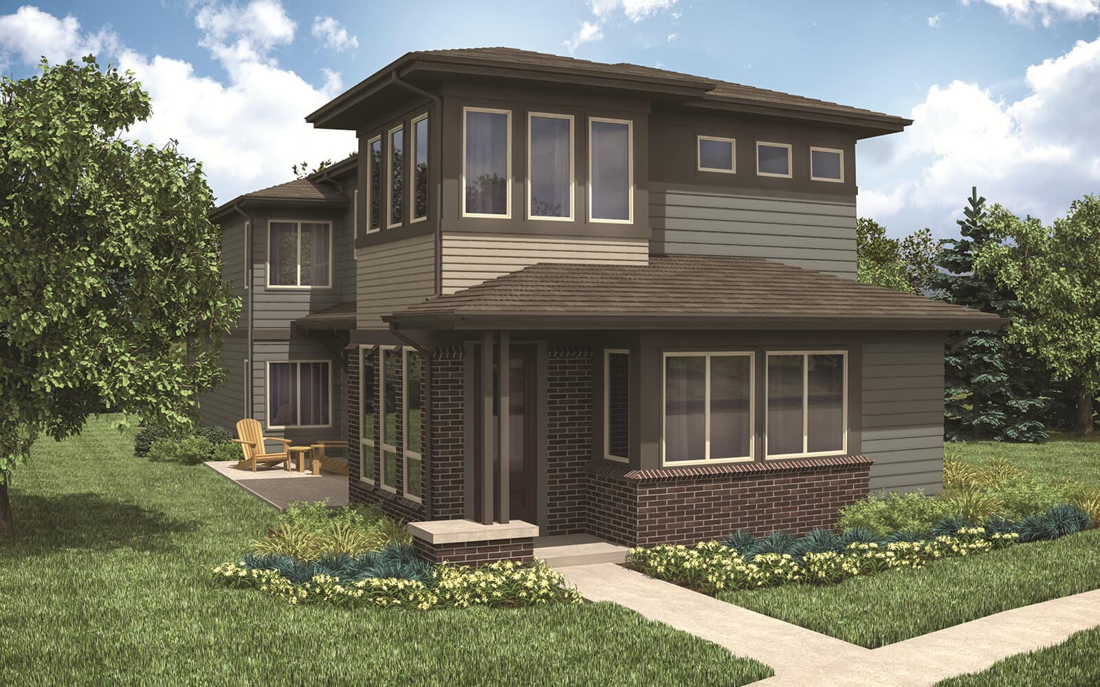 Signature-Two-Modern-Elevation-Sterling-Ranch-Denver-Colorado