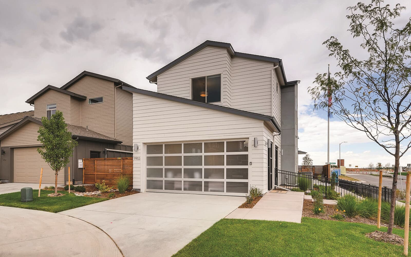 Signature-Four-Model-Exterior-Garage-Sterling-Ranch-Denver-Colorado