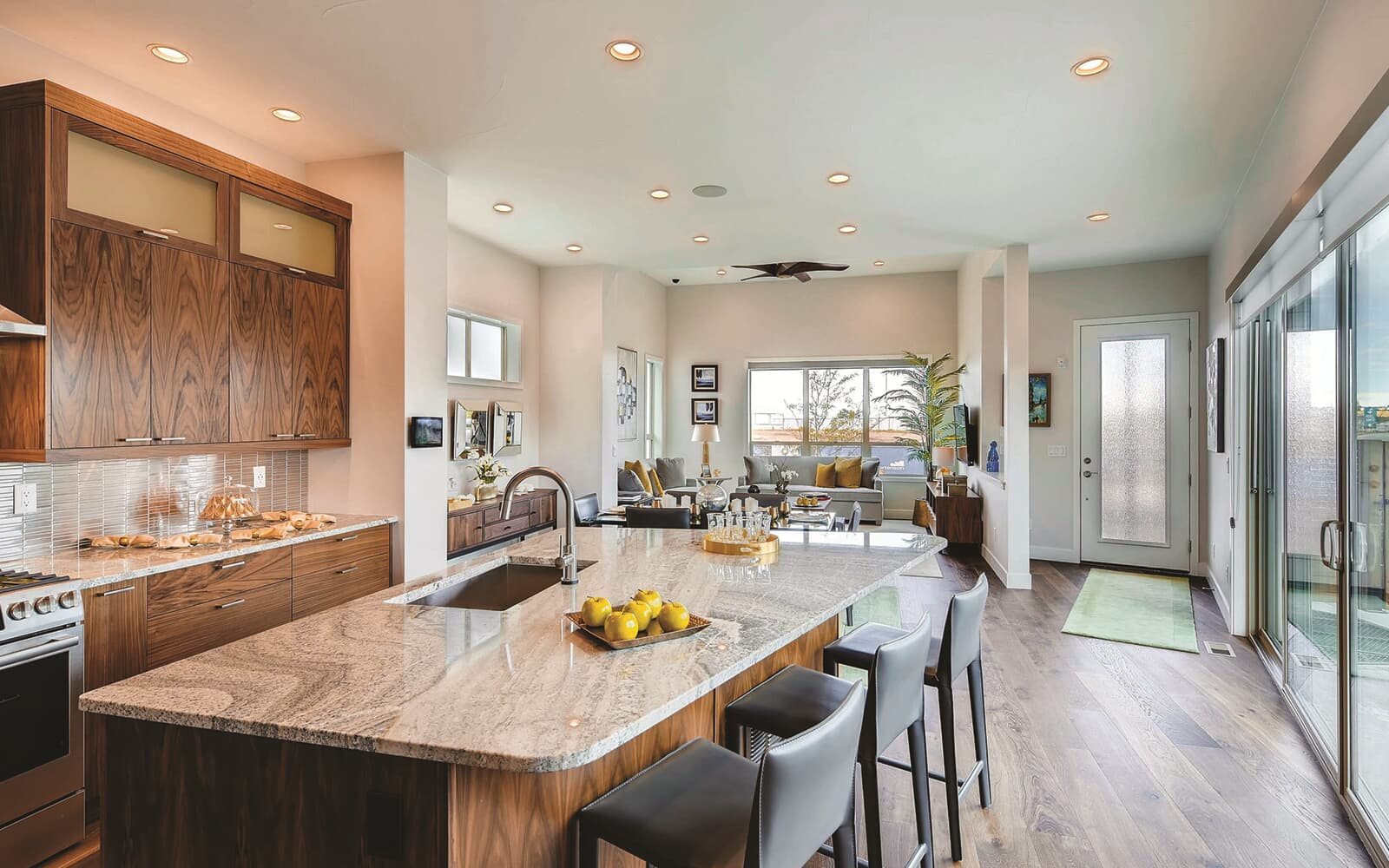Signature-Four-Model-Interior-Great-Room-One-Sterling-Ranch-Denver-Colorado