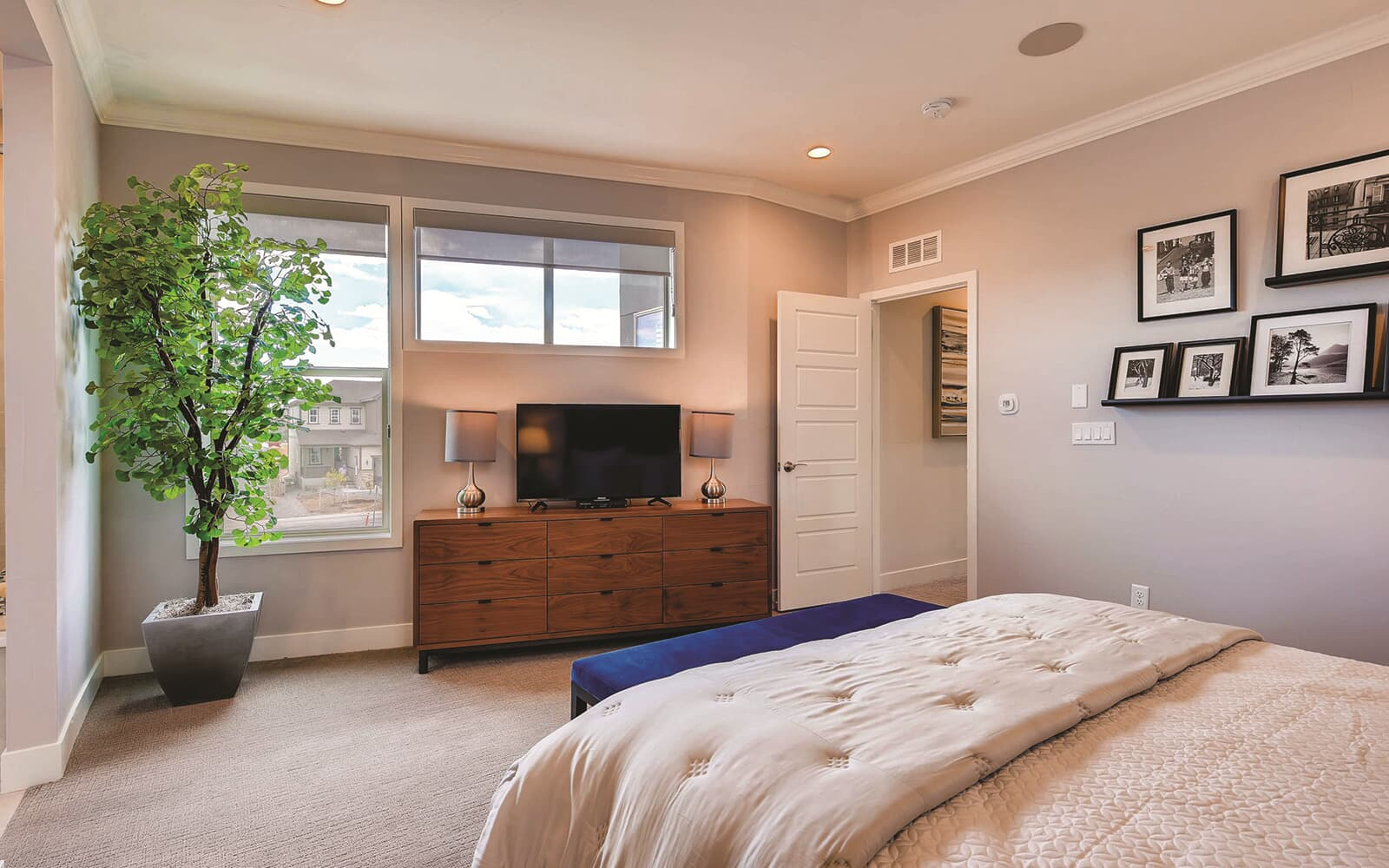 Signature-Four-Model-Interior-Master-Bedroom-One-Sterling-Ranch-Denver-Colorado