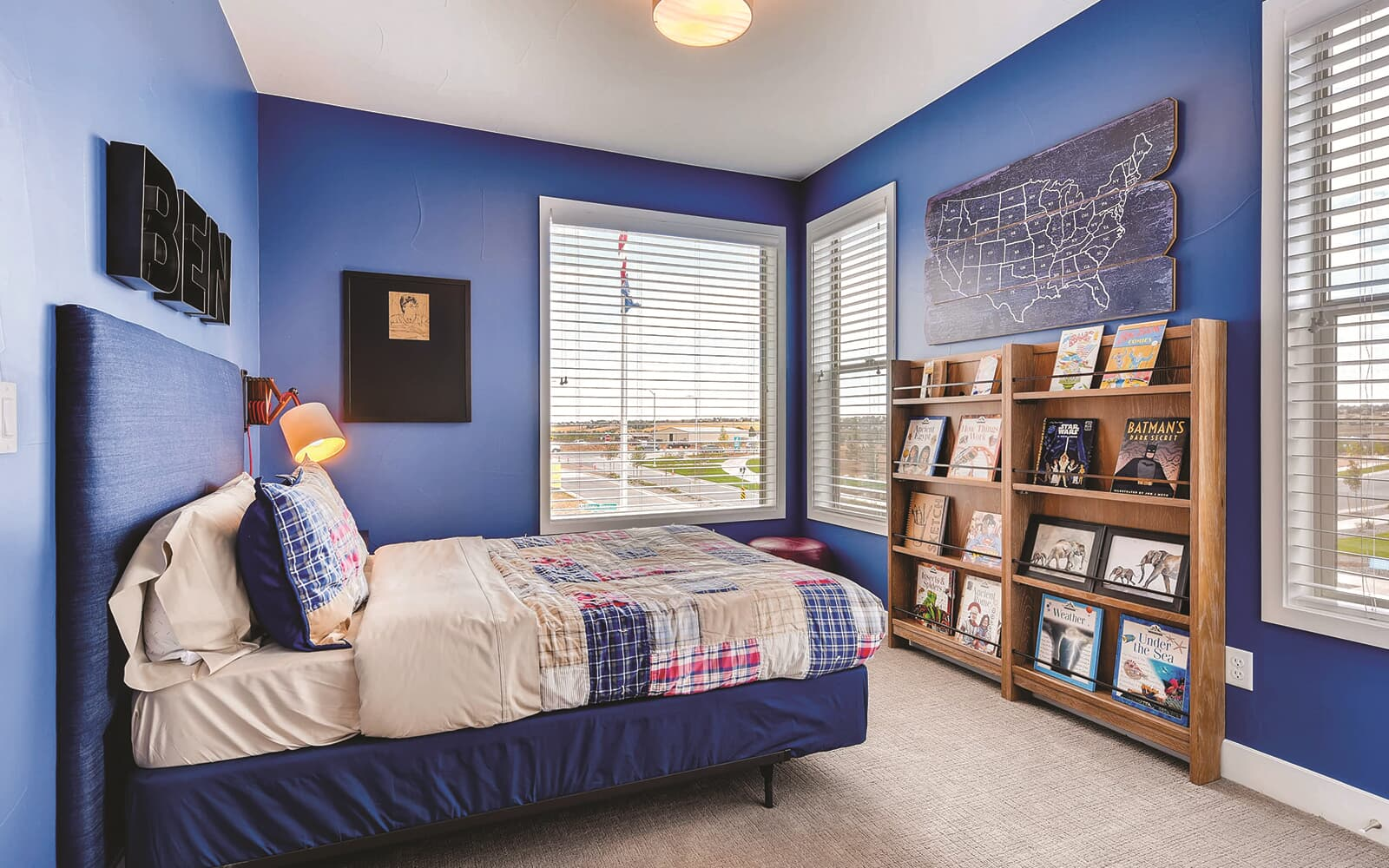Signature-Four-Model-Interior-Upstairs-Bedroom-Sterling-Ranch-Denver-Colorado