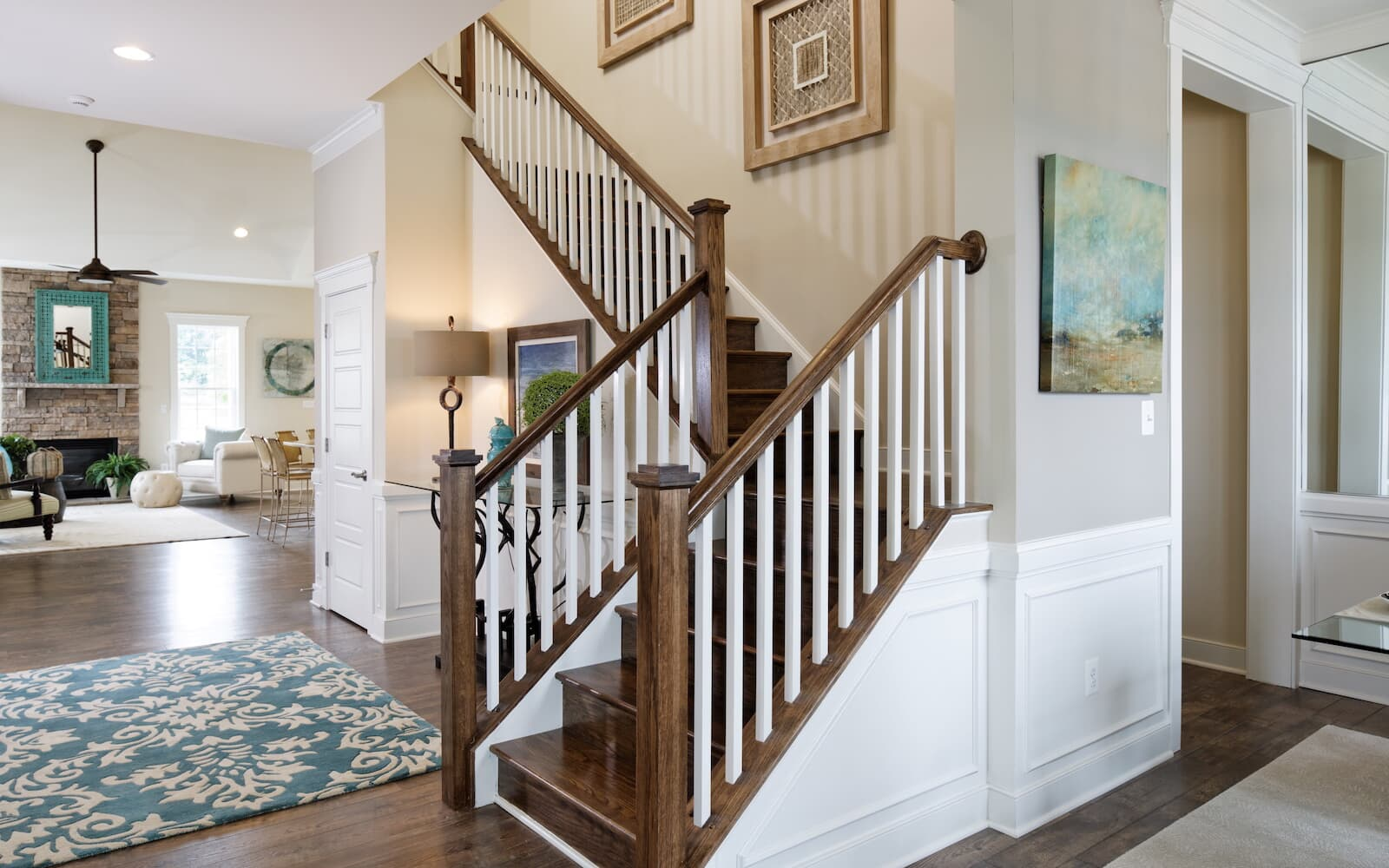 Pearson-staircase-single-family-homes-bridgeville-de-active-adult-heritage-shores-brookfield-residential