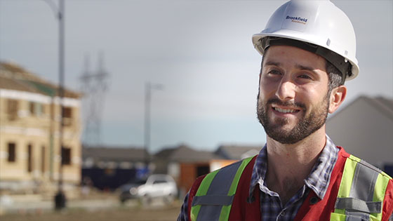 Employee Luke Site Manager Brookfield Residential