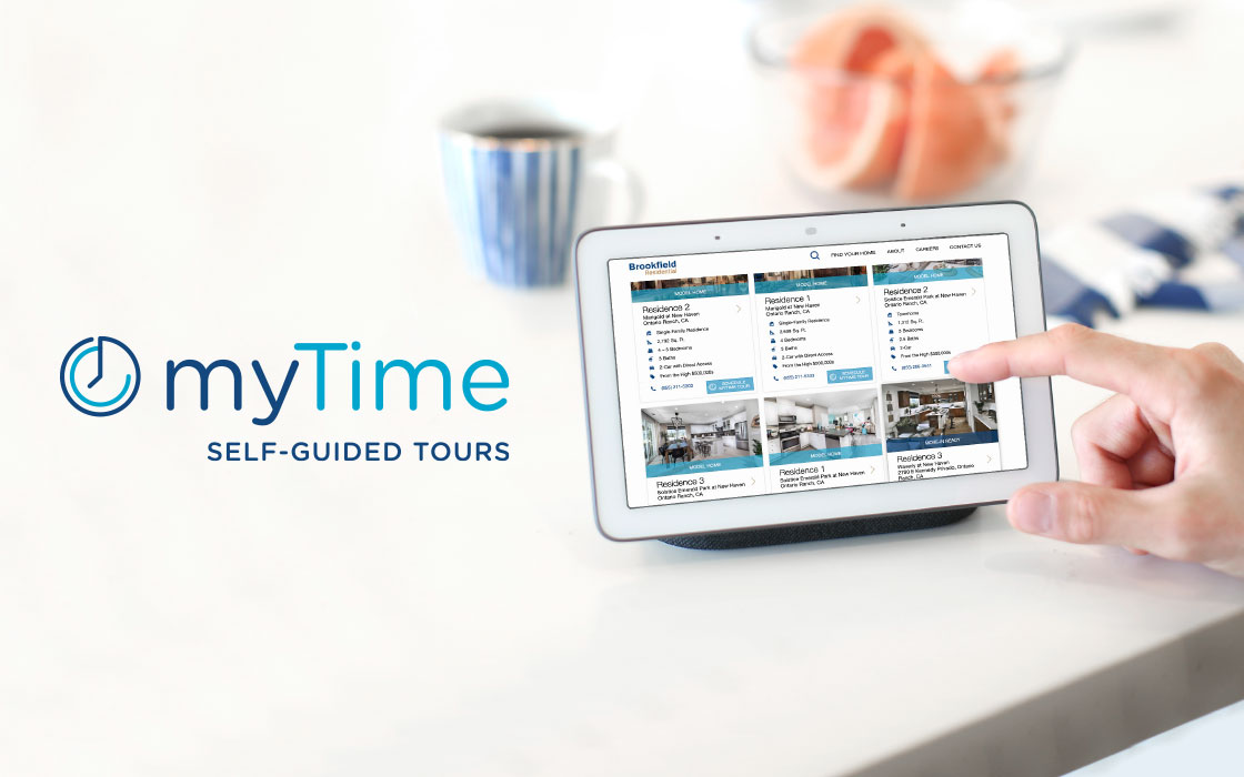 Schedule a tour on your own time