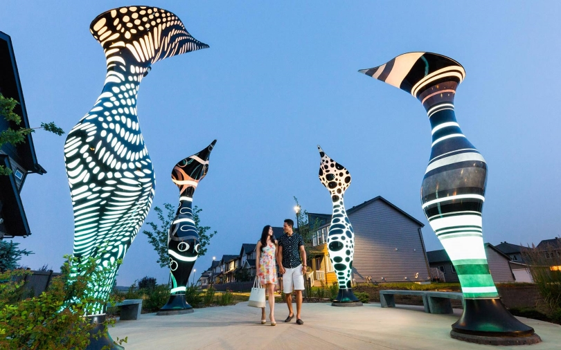 Public Art in Paisley | Heritage Valley in Edmonton, Alberta | Brookfield Residential