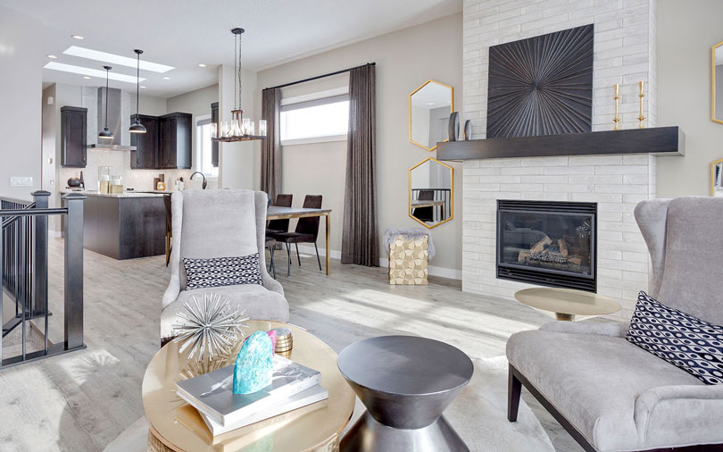 Interior | Grandin Chinook Gate in Airdrie | Calgary, Albert | Brookfield Residential