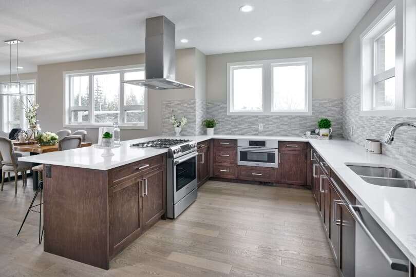 Olivine Kitchen |The Ivy at University District| Calgary, Alberta | Brookfield Residential