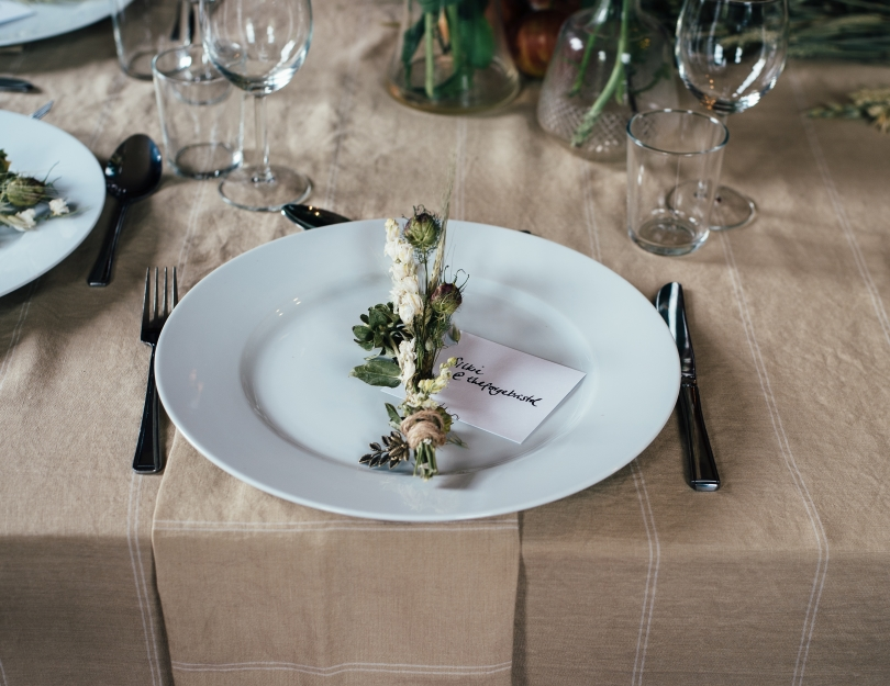 Elegant Table Setting Culinary Arts in South Calgary Brookfield Residential