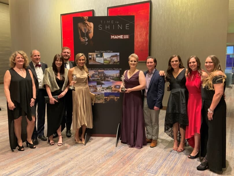 Brookfield Residential Team Members at the MAME Awards | Denver, Colorado | Brookfield Residential