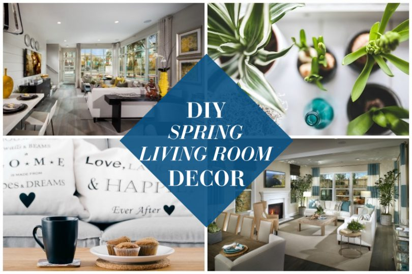 2016 DIY Spring Living Room Decor | Brookfield Residential