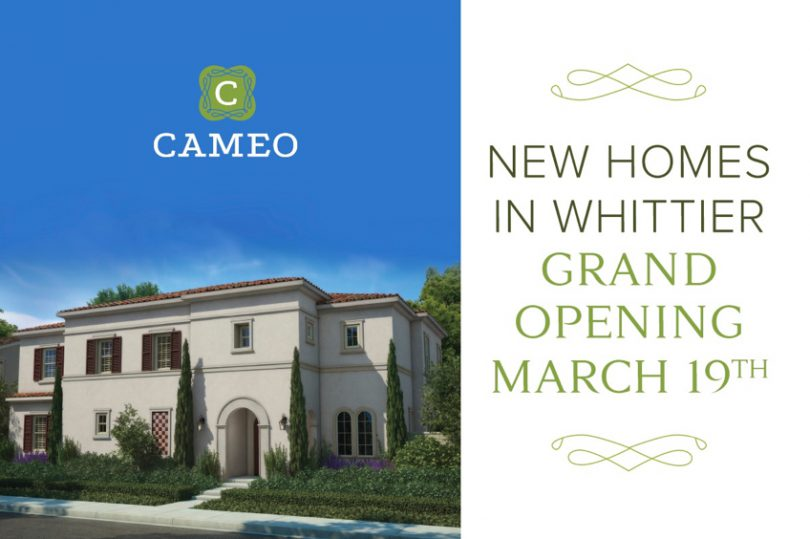 2016 Save the Date Cameos Model Grand Opening Brookfield Residential