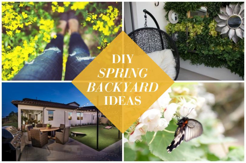 2016 DIY Spring Backyard Ideas | Brookfield Residential