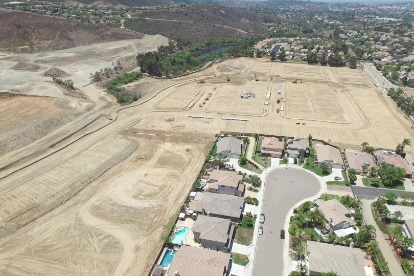 2017 Times of San Diego Notes Construction of Rancho Tesoro | Brookfield Residential