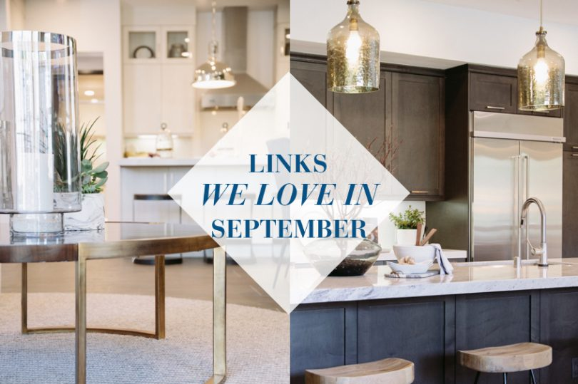 2016 September Links We Love | Brookfield Residential