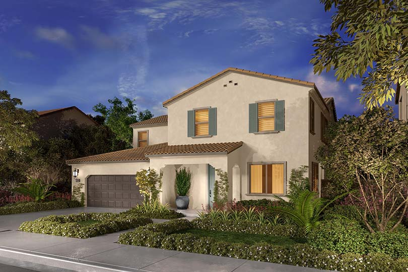 New homes at Agave Agave at Spencer s Crossing in Murrieta CA Brookfield Residential