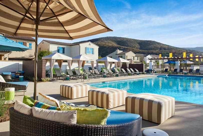 Cabana by Pool Rancho Tesoro in San Marcos CA Brookfield Residential