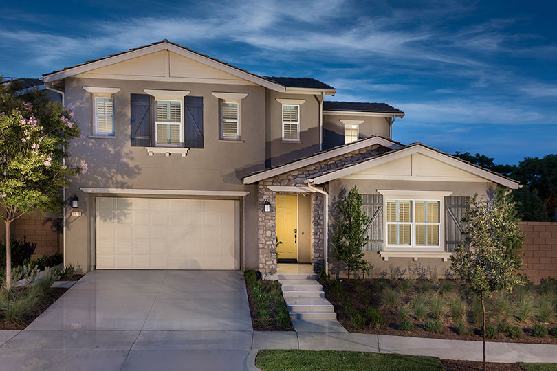 Two-Story Home | Shutters at Edenglen in Ontario Ranch, CA | Brookfield Residential