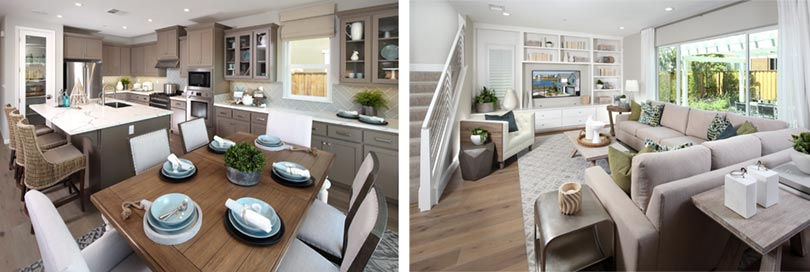 Open living spaces | Emerson Ranch in Oakley, CA | Brookfield Residential