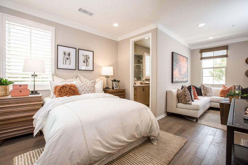 Guest-friendly first-floor bedroom with full-bath | Brookfield Residential