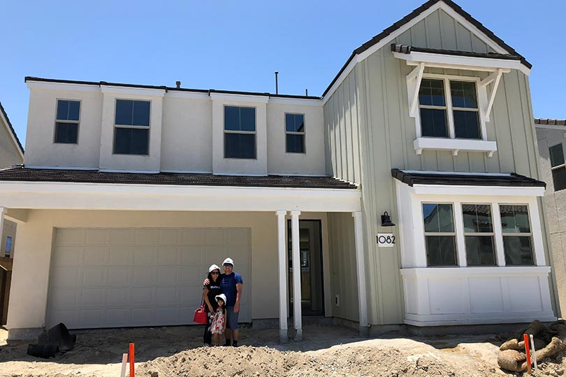 New homeowners Prado at the Village of Escaya in Chula Vista CA Brookfield Residential