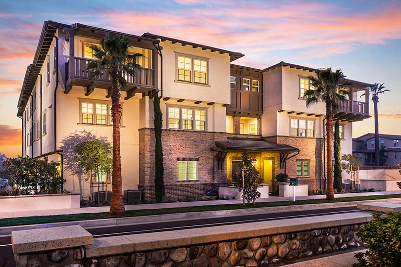 New townhomes | Citrus + Palm at Rosedale in Azusa, CA | Brookfield Residential