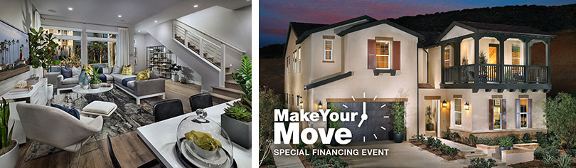 Make your move with special financing on move-in ready homes in Los Angeles County.