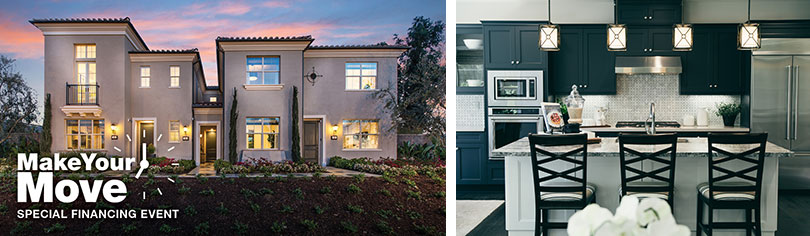 Make your move with special financing on move-in ready homes in Orange County.