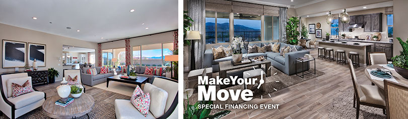 Make your move with special financing on move-in ready homes in Riverside County.