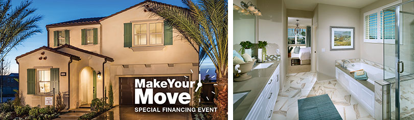 Make your move with special financing on move-in ready homes in San Bernardino County.