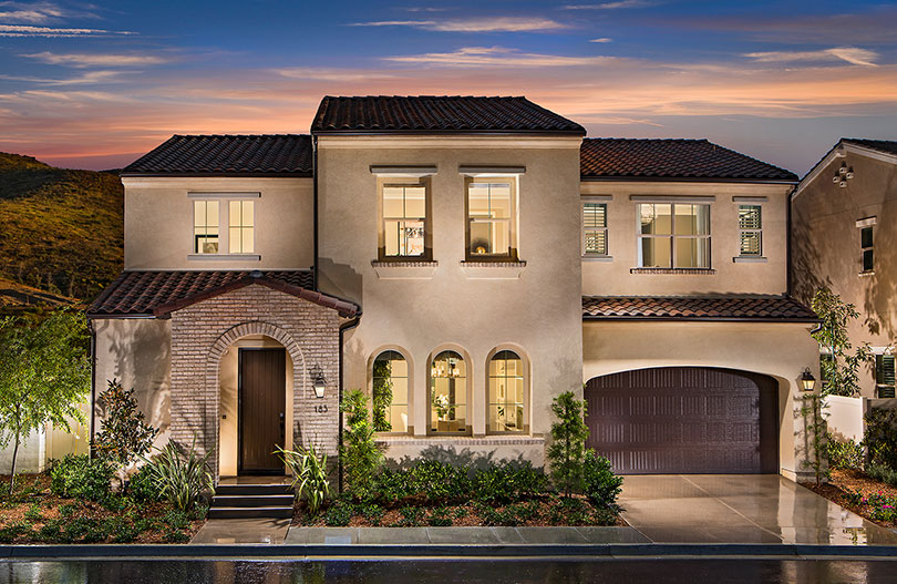 Residence 3 Candela at Rancho Tesoro New Home San Marcos CA Brookfield Residential