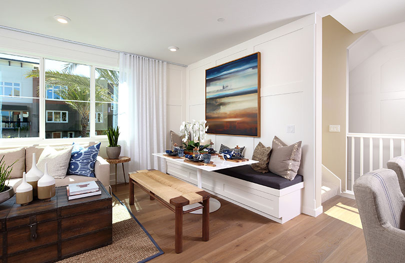 Dining Room | Wilshire at Boulevard in Dublin, CA | Brookfield Residential