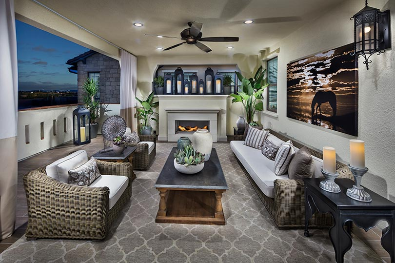 Deck | Beverly at Eastwood Village in Irvine, CA | Brookfield Residential