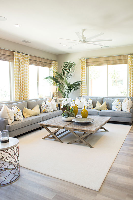 Living room décor trends | Juniper at Spencer's Crossing in Murrieta, CA | Brookfield Residential