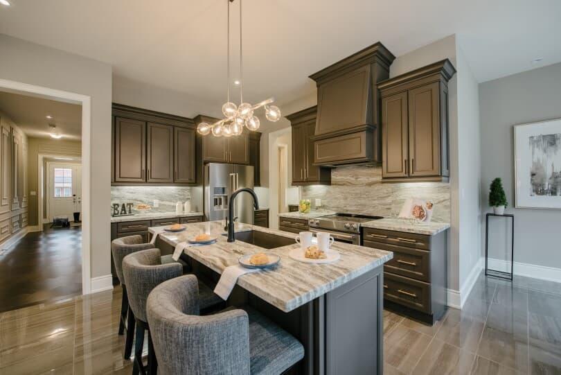 Brookfield Residential, Kitchen Cabinets Aurora Ontario