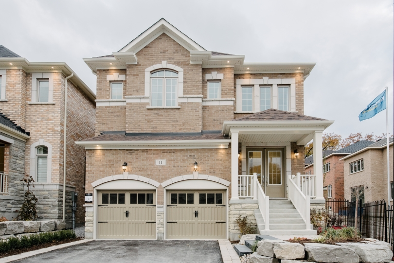 New Home Exterior | Woodhaven in Aurora, Ontario | Brookfield Residential