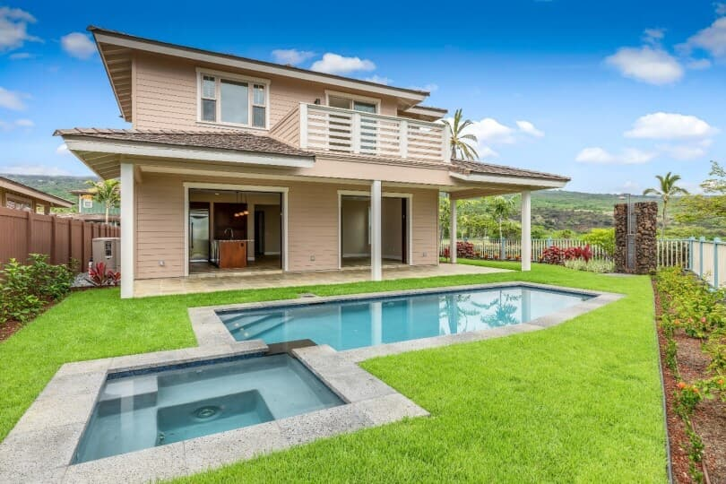 exterior new home plan 4 holua kai at keauhou big island brookfield residential 810x540
